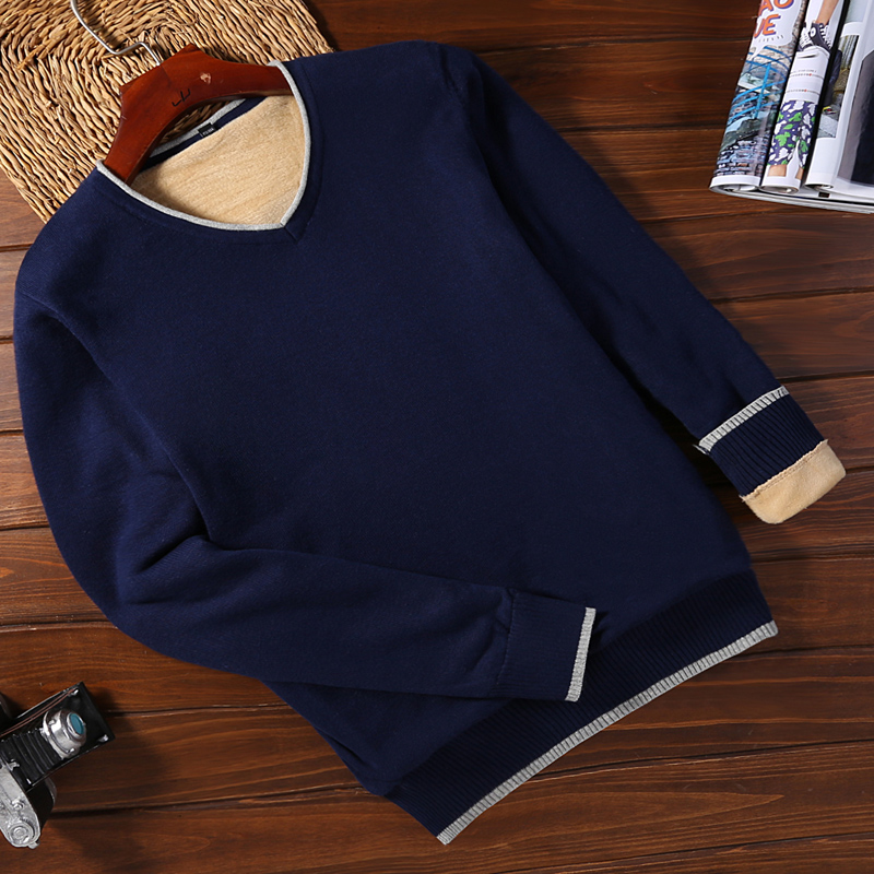 Plus Velvet 9091 Royal Blue (v-neck)