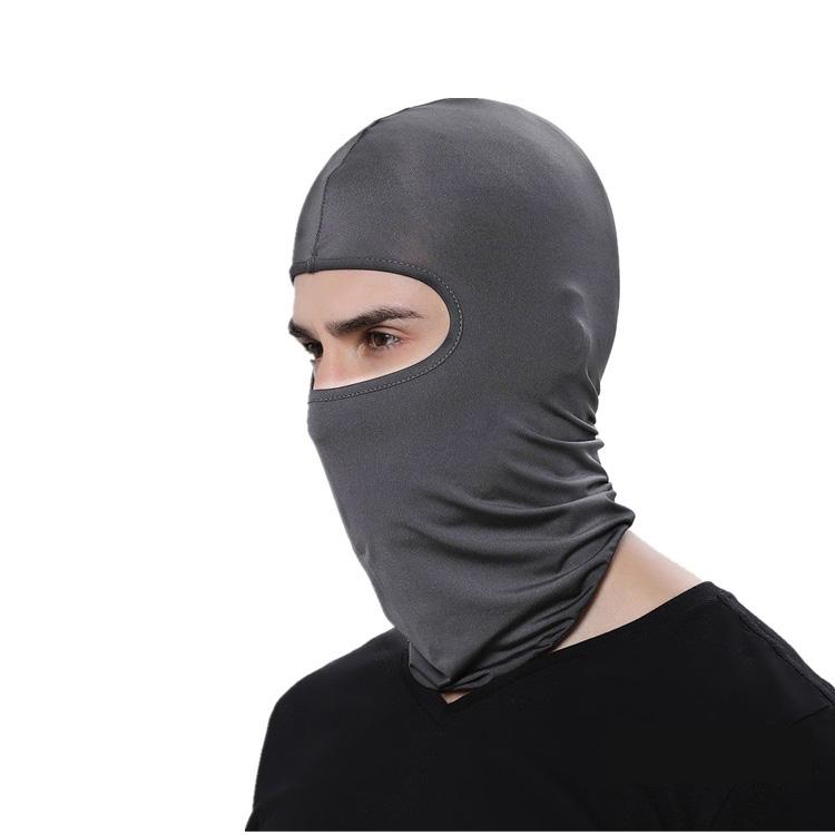 夏季冰丝骑行防晒面罩男女CS蒙脸口罩反恐全脸防尘摩托车保暖头套