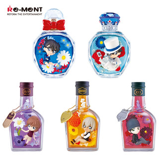 Re ment Japanese version of the box egg detective Conan FLOWER EPISODE perfume bottle Conan spot