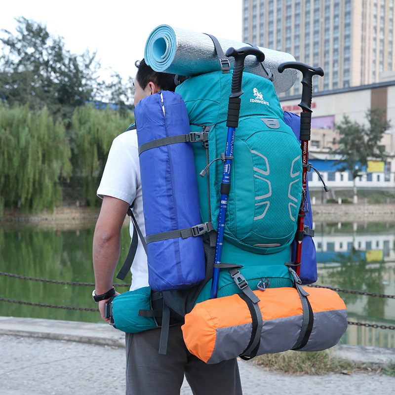 2e52546bad05 Mountaineering bag shoulders female men ultra light outdoor large capacity  travel tourism 60 liters l hiking waterproof luggage camping