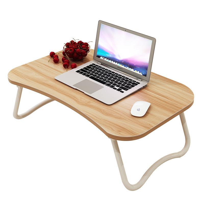 Столик для ноутбука Кровать с складной небольшой стол, ноутбук, кресло у студента в общежитии рабочий стол простой стол кровать, небольшой стол