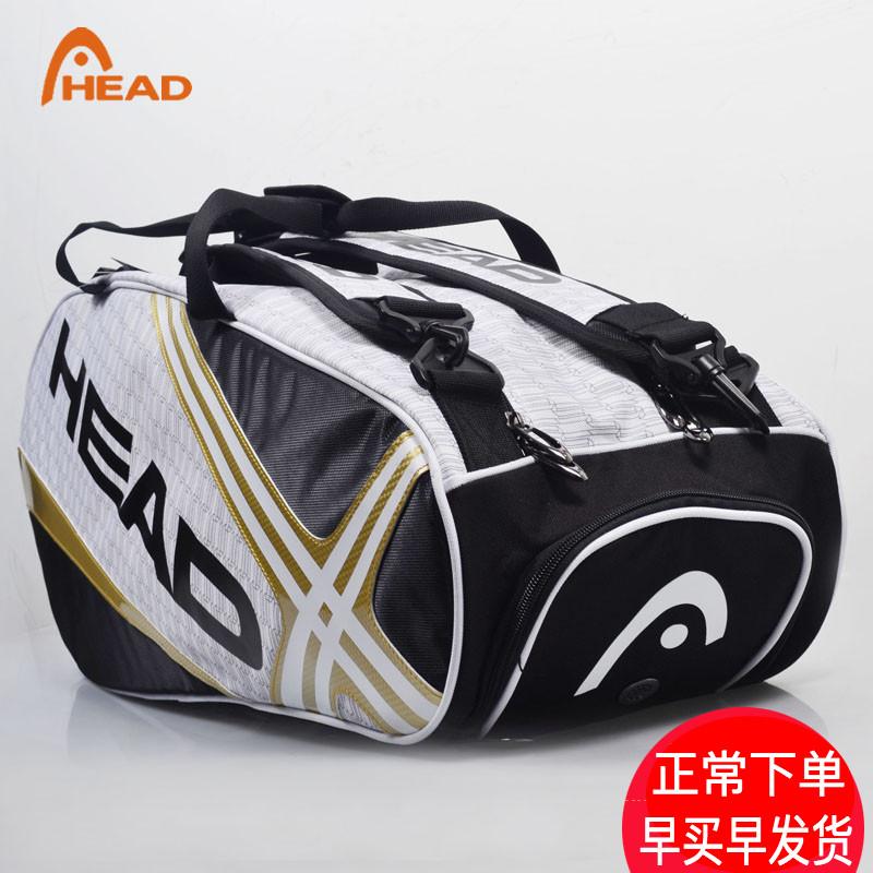 Бесплатная доставка гайд теннис пакет плечи плечо теннис пакет рюкзак HEAD мешок 6 филиал шесть пригодный для носки подлинный