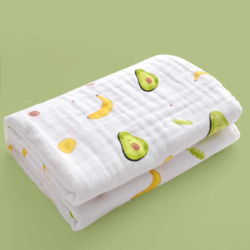 纯棉婴儿浴巾纱布吸水速干儿童