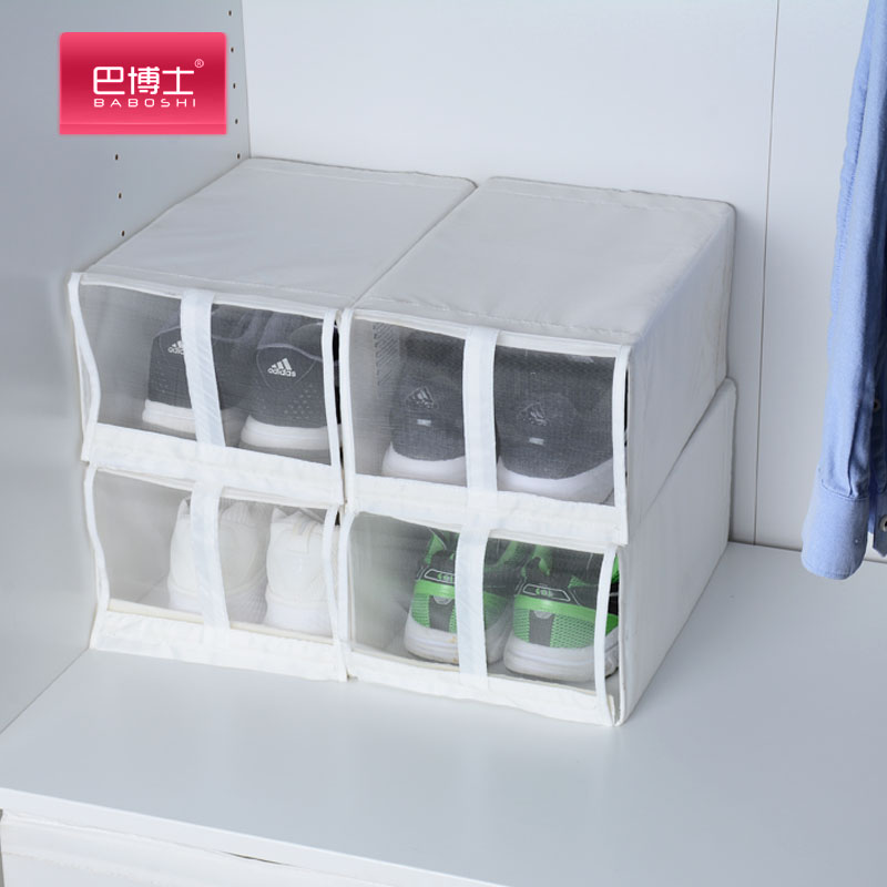 Ikea Shoe Box Storage Display Anti Oxidation Plastic Shoes Collection Upright Of High