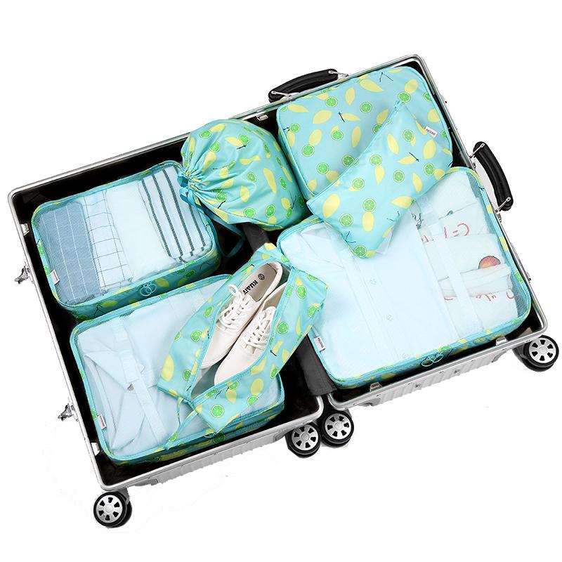 【7件套】旅行收纳袋收纳包整理袋打包袋