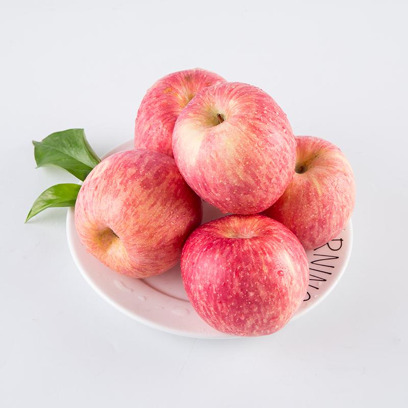 红香蕉苹果红元帅苹果粉面香糯新鲜应季水果老人幼儿辅食10斤整箱