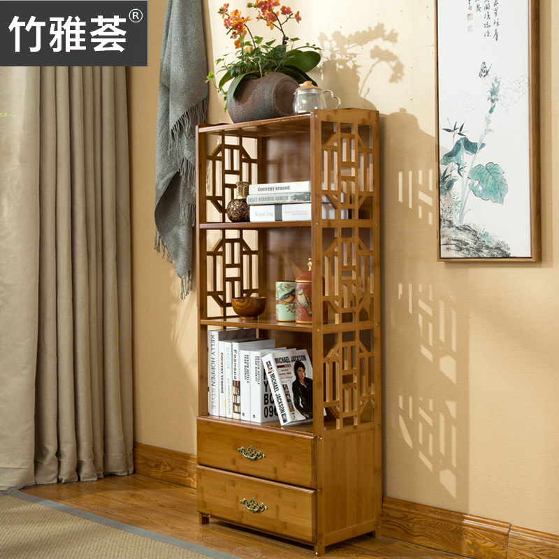 USD 3163 Chinese Drawer Bookcase Simple Modern Combination