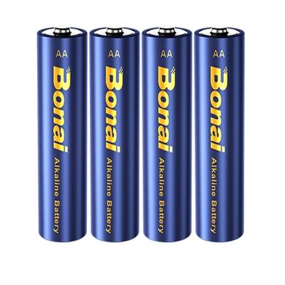博奈5号7号碱性电池24粒1.5V大容量家用小号AAA普通电视空调遥控器宝宝玩具鼠标KTV话筒专用五号七号干电池