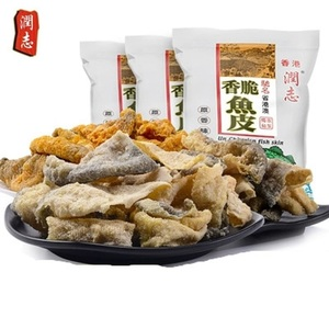 香港特产润志鱼皮110gx3包网红美食