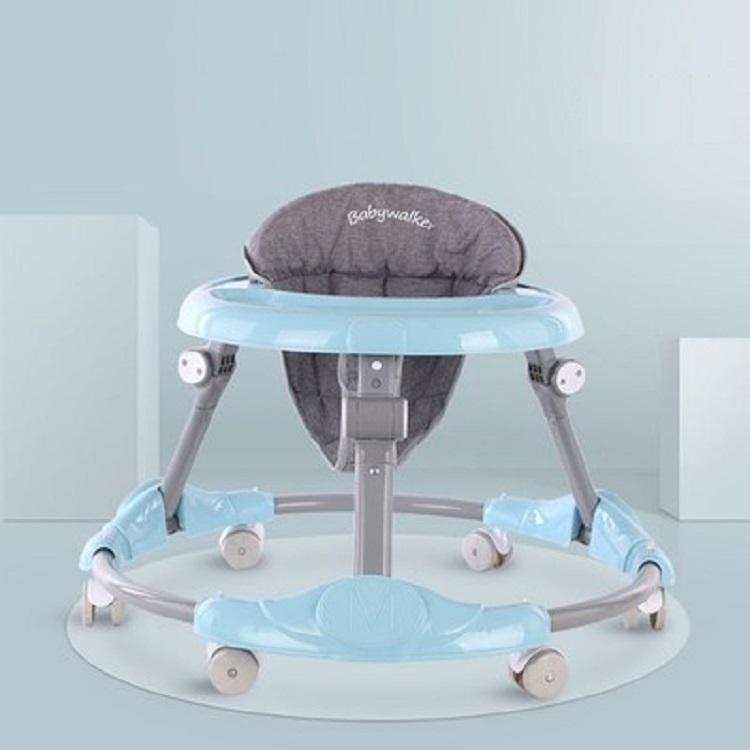多功能可折叠婴儿学步车
