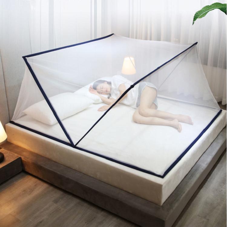免安装折叠蚊帐单人双人便携式蚊帐加密加厚