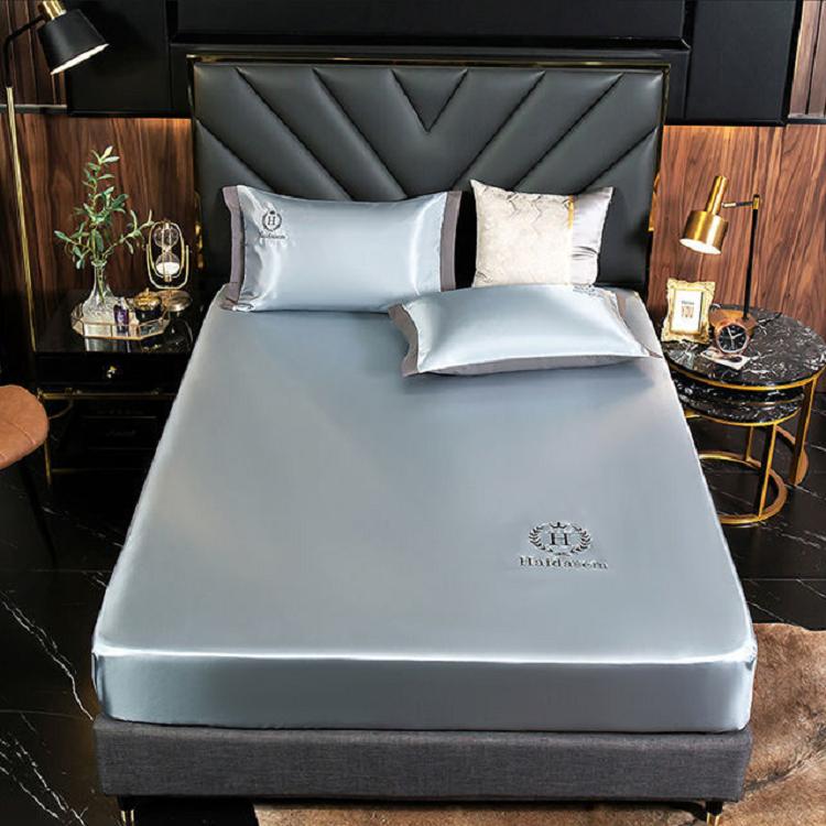 冰丝凉席冰丝席床笠1.8米2米席子0.9m床套软席梦思床垫保护罩全包