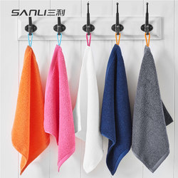 Sanli Xinjiang Cotton Towel Pure Cotton Washing Face Absorbent Household Hanging Small Towel Kitchen Cotton Quartet Special for Children