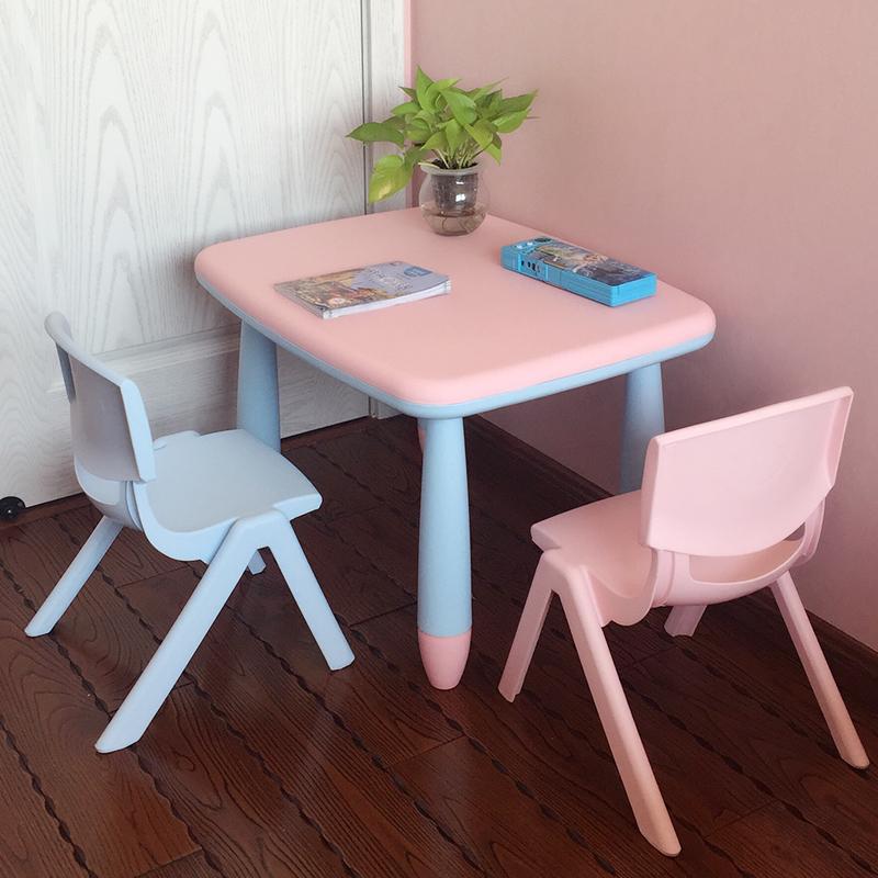 Children Study Table Chair Set Kids Desk Kindergarten Writing Desk Home Kids  Desks And Chairs 1