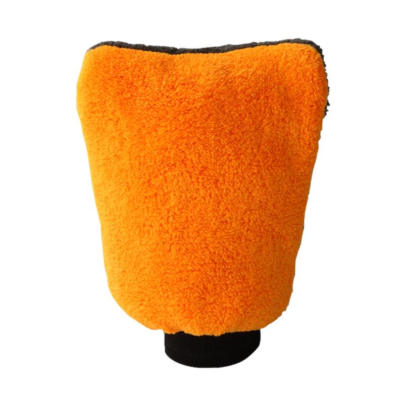 Варежка для мытья авто Автомойка перчатки водонепроницаемый ватки коралла Мишке лапу, летом толстые специального прочного обтирая ткань автомобиля многофункциональный автомобильных принадлежностей