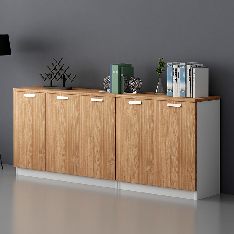 Guangzhou Office Furniture Filing Cabinet Bookcase Low Data Wooden Staff