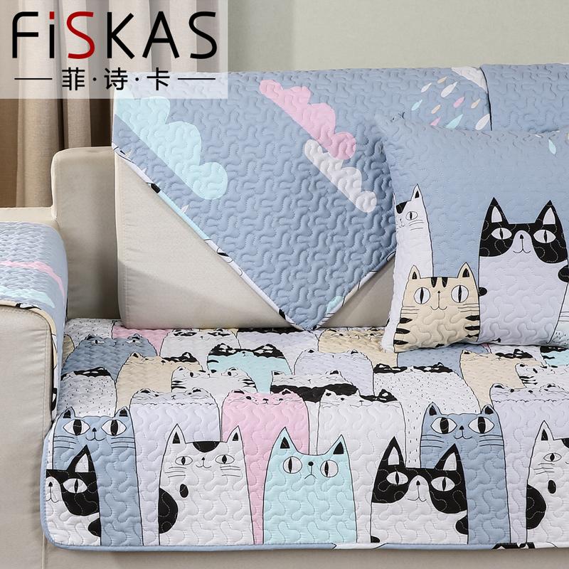 Филиппины поэзия кака через милый хлопок подушки на диване простой современный гостиная ткань крышка наборы полотенец четыре сезона скольжение подушка сын