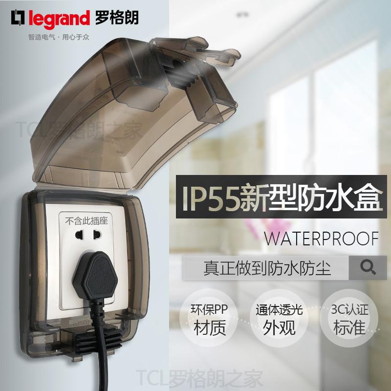 TCL ло сетка яркий переключатель выход IP55 прозрачный 86 тип выход водонепроницаемый коробка на открытом воздухе ванная комната ванная комната противо всплеск коробка