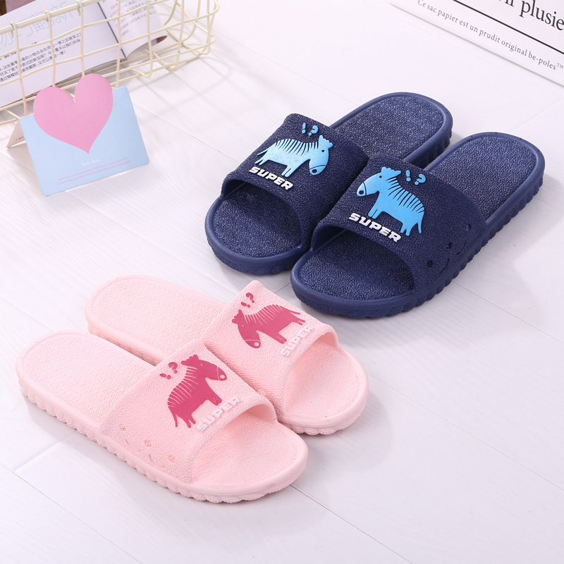208489ee7 Bathroom anti-slip men's and women's home household bath soft bottom summer  slippers female indoor couple word drag sandals and slippers