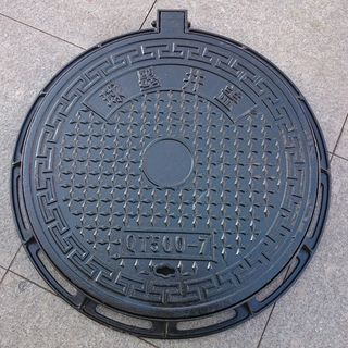Ductile iron manhole cover circular municipal rainwater sewage water power fire sewer 700B125