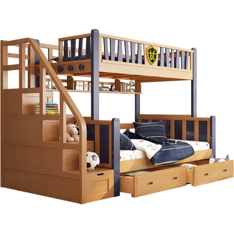 Usd 2272 14 Full Solid Wood Children Bed Bed Bunk Bed Beech Bunk