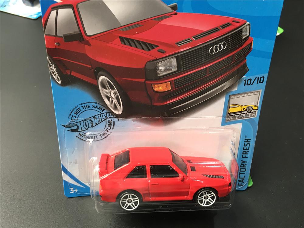 20H風火輪火辣小跑車模型玩具奧迪運動賽車84 AUDI sport quattro