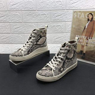 Brand withdrawal women's shoes for fall/winter 2020 new round toe platform heel high top shoes Korean lace-up Martin boots 9AY23