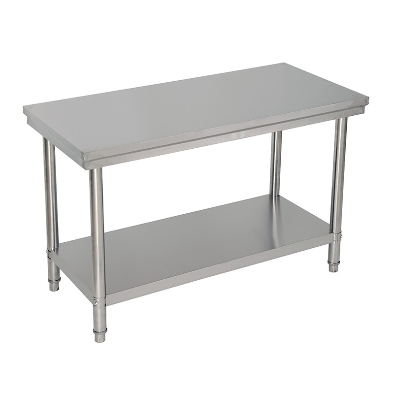 Double stainless steel operating table hotel table kitchen ...