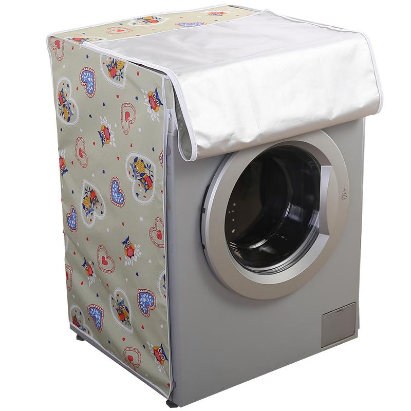 家用防水防晒上开翻盖双筒双缸老式海尔博世滚筒通用款洗衣机罩套_天猫超市优惠券