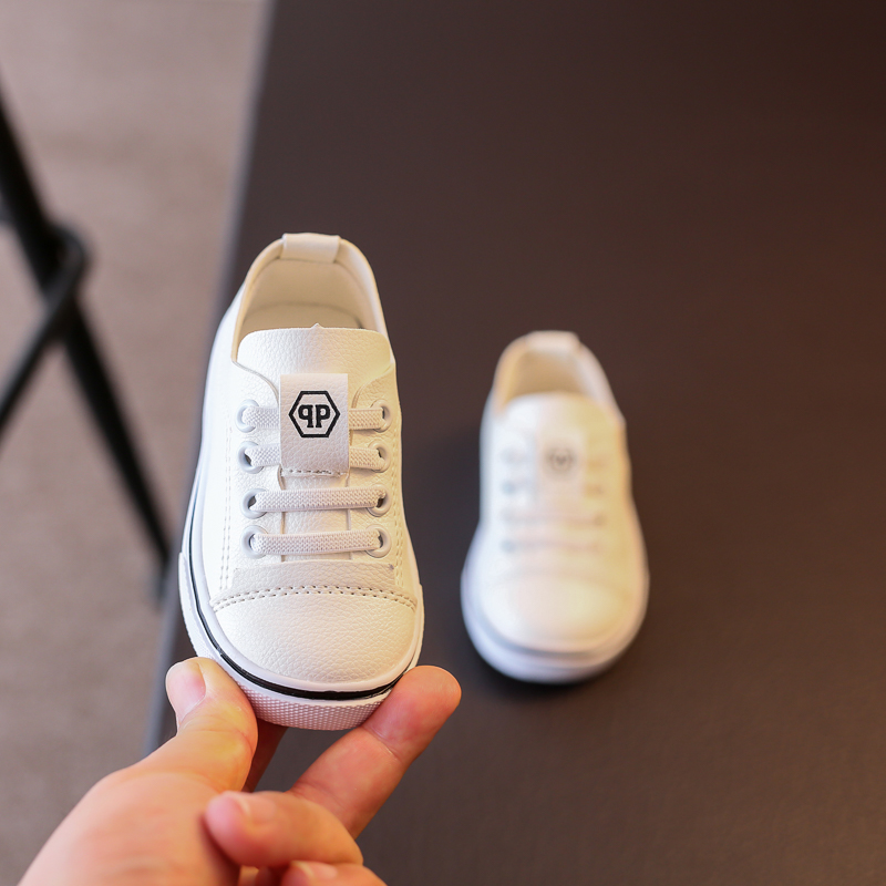 autumn small white shoes boys casual