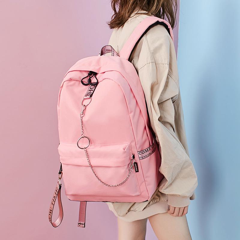 Портфель девочки студент корейский кампус харадзюку ulzzang волна рюкзак рюкзак мужчина против всплесков великий мощность