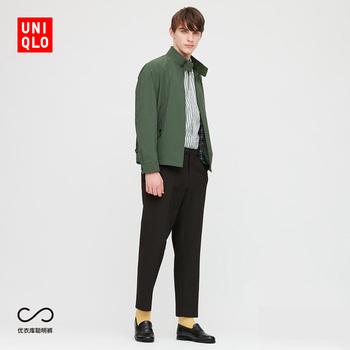 Брюки повседневные,  Отлично одежда склад мужской  EZY эластичность девять очков ( брюки ) 425149 UNIQLO, цена 3435 руб