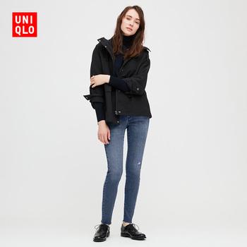 Отлично одежда склад женщины высокая эластичность джинсы ( мойка продукт ) 429089 UNIQLO, цена 4642 руб