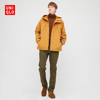 Брюки повседневные,  Отлично одежда склад мужской ветролом тонкий без складок брюки  429218 UNIQLO, цена 3861 руб