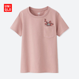 Women's (UT) DPJ Printed T-Shirt (Short Sleeve) 417186 Uniqlo UNIQLO