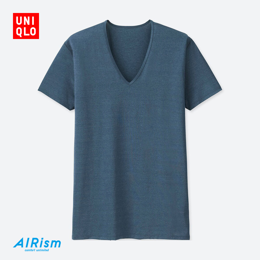 UNIQLO优衣库AIRism V领T恤403522  59元 59元