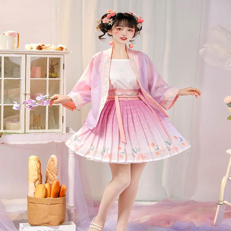 【春韵】正品原创宋制小短裙汉服