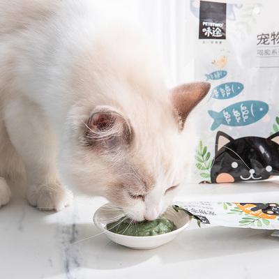 Petstwo猫草果冻猫薄荷猫肉条猫零食肉条猫罐头布丁猫咪化毛零食