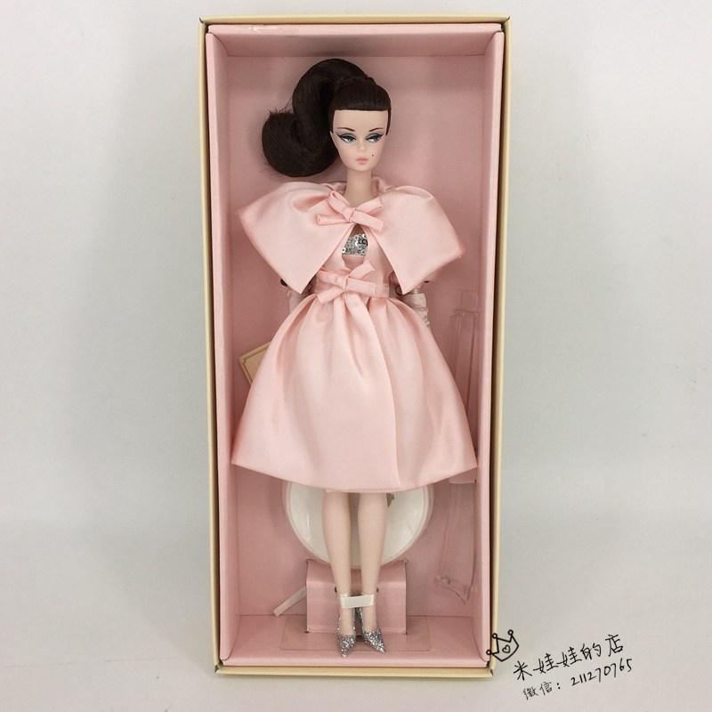 美国珍藏版芭比娃娃金标2015会员款STsilkstoneBlushBeauty