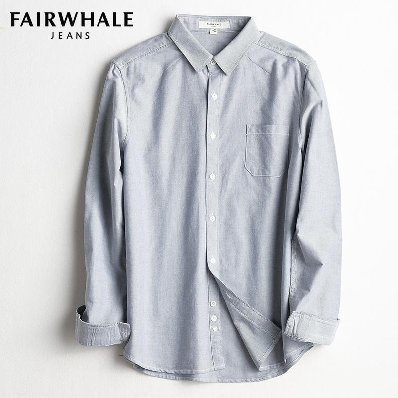 Рубашка мужская Марка с длинными рукавами хуафэй рубашка мужская 2017 осень новый молодежный Оксфорд приталенный Fit цветочный печати без рукавов хлопок рубашка прилив
