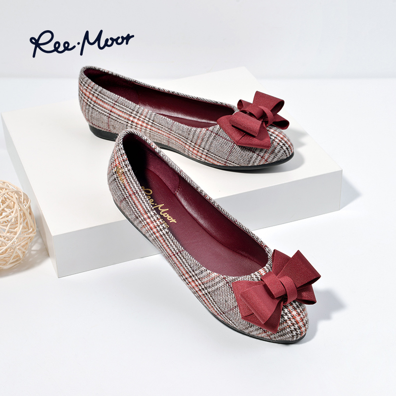 639959f92e REEMOOR flat shoes female lattice new summer single shoes Egg Roll shoes  wild dinner shoes fairy shoes