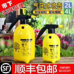 City home gardening humidification watering spray can watering can spray small atomizing sprayer air pressure watering can