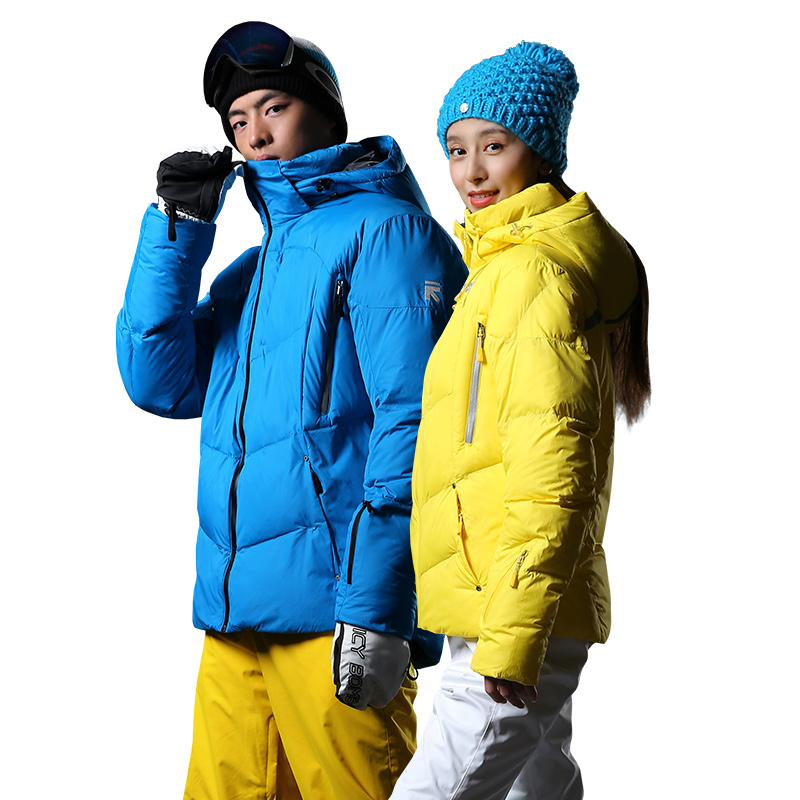 Running river lovers outdoor single board double board thickened ski clothing warm cotton jacket L4979