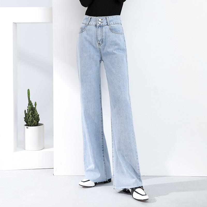 垂感宽松阔腿裤小个子泫雅拖地裤潮