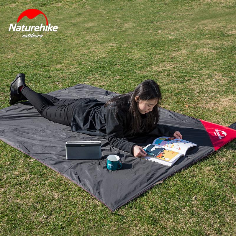 NH шаг пассажир на открытом воздухе многофункциональный сверхлегкий карман ткань двухсторонняя анти - вода пикник ткань кемпинг коврики газон коврики