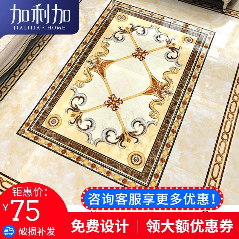 Паркетная плитка, коридор, проходная плитка, позолота без Лимитированный полированный хрустальный кирпич Европейская гостиная плитка плитка мозаика карта панель кирпич