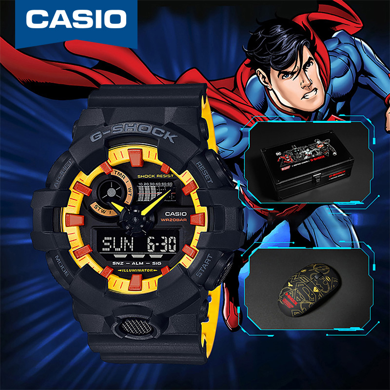 9b091fa3fd1 Casio Justice League joint G-SHOCK watch Gshock waterproof shockproof male  table GA-700