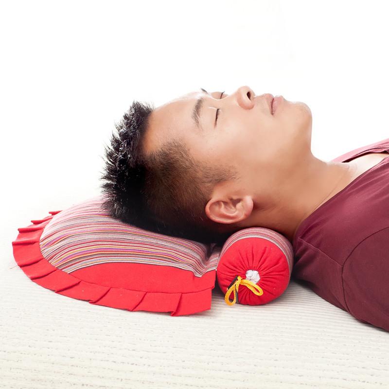 颈椎枕头颈椎专用枕头成人修复颈枕护颈颈椎枕高粱荞麦皮保健枕芯