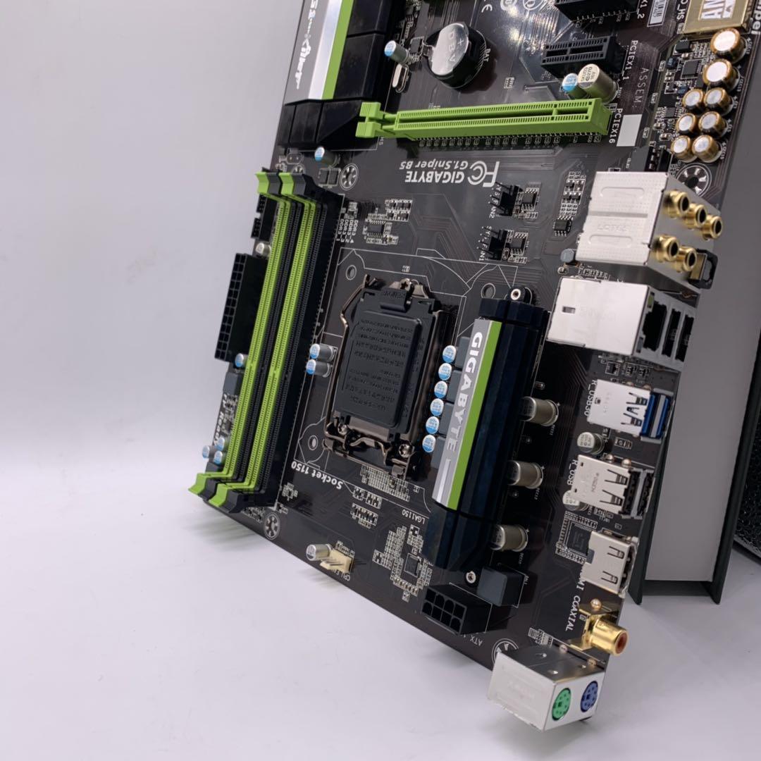 【石頭記數碼】Gigabyte/技嘉 G1.Sniper B5臺式機1150針DDR3主板HDMI支持B85Z97