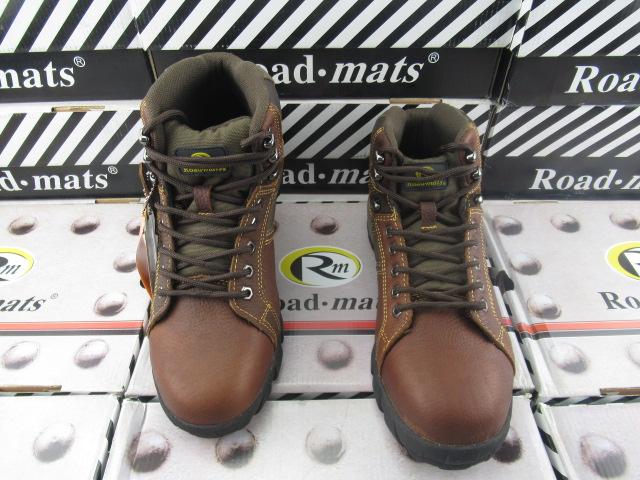 高帮户外鞋登山鞋 头层牛皮 钢头男鞋防滑耐磨工装靴徒步鞋